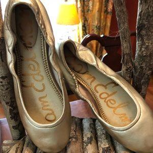 Sam Edelman 7.5 Bronze Metallic Ballet Flats!!!!!!